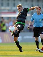 FUSSBALL   1. BUNDESLIGA   SAISON 2012/2013   TESTSPIEL  Werder Bremen - FC Aberdeen         25.07.2012 Aaron Hunt (SV Werder Bremen) Einzelaktion am Ball