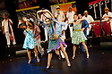 "06.06.12. London, UK. ""Havana Rumba!"", the Cuban Salsa, Rumba, Rum and Reggaeton show returns to the UK. Being performed in the upside down cow venue, The Udderbelly, on the Southbank, the show runs from Wednesday 20th May to Sunday 8th July 2012. Picture shows: Yuyu Vega Ruiz, Marilyn Acosta and Wendy Alvarez."