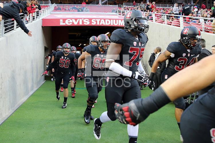 Santa Clara, CA -- December 5, 2015:  Stanford wins the Pac-12 Football Championship over USC 41-22 at Levi's Stadium.