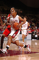 23 November 2005: Markisha Coleman during Stanford's 89-67 win over Fresno State at Maples Pavilion in Stanford, CA.