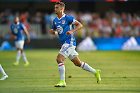 San Jose, CA - Thursday July 28, 2016: Chris Wondolowski during a Major League Soccer All-Star Game match between MLS All-Stars and Arsenal FC at Avaya Stadium.