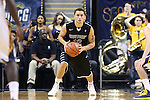08 November 2013: High Point's Jorge Perez-Laham. The University of North Carolina Greensboro Spartans played the High Point University Panthers in a 2013-14 NCAA Division I men's college basketball game at the Greensboro Coliseum in Greensboro, North Carolina. UNCG won the game 82-74.