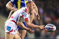 Picture by Alex Whitehead/SWpix.com - 16/03/2017 - Rugby League - Betfred Super League - Leigh Centurions v Warrington Wolves - Leigh Sports Village, Leigh, England - Leigh's Micky Higham.