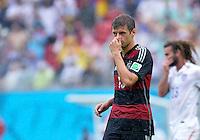 FUSSBALL WM 2014  VORRUNDE    GRUPPE G    in Recife USA - Deutschland                  26.06.2014 Thomas Müller (Deutschland)