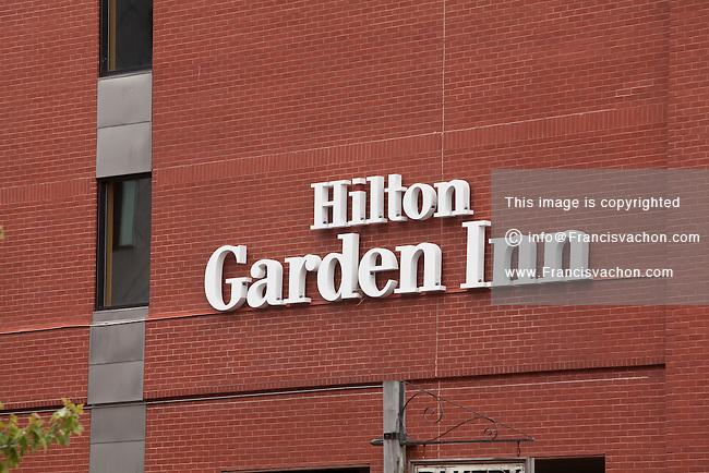 Hilton Garden Inn Hotel Portland Stock Photos By Francis Vachon