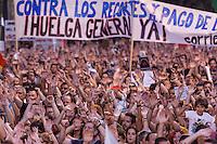Demonstration againts cuts - Madrid