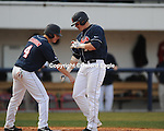 Mississippi's Matt Smith after hitting a home run vs. Louisiana-Monroe at Oxford-University Stadium in Oxford, Miss. on Saturday, February 20, 2010 in Oxford, Miss. Mississippi won 14-0..