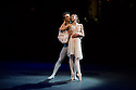 London, UK. 10.06.2014. Vadim Muntagirov and Daria Klimentova, from English National Ballet, in rehearsal for ROMEO AND JULIET, in the round, in the Royal Albert Hall. Photograph © jane Hobson.