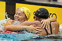 Yayoi Matsumoto, September 4, 2011 - Swimming : Yayoi Matsumoto celebrates after wining during the Intercollegiate Swimming Championships, Women's 100m Free style final at Yokohama international pool, Kanagawa. Japan. (Photo by Yusuke Nakanishi/AFLO SPORT) [1090]
