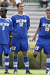 04 September 2011: UCSB's Tim Pontius. The University of California Santa Barbara Broncos defeated the North Carolina State University Wolfpack 1-0 at Koskinen Stadium in Durham, North Carolina in an NCAA Division I Men's Soccer game.