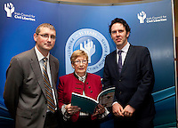"**** NO FEE PIC***.12/04/2012 .Dr. Shane Kilcommins UCC,.Gillian Hussey Chair of Crime Victims Helpline.Prof Anthony Pemberton International Victimology Institute Tilburg.during a conference on the ""The EU Directive on Victims Rights: Opportunities and Challenges for Ireland"" hosted by the the Irish Council for Civil Liberties (ICCL) in Dublin Castle..Photo: Gareth Chaney Collins"