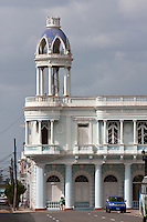 Cuba, Cienfuegos.  Palacio Ferrer, built early 1900s.
