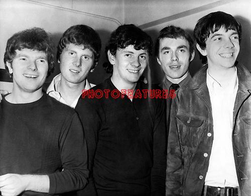 Them 1965 Van Morrison (left) Pete Bardens (right)<br /> &copy; Chris Walter
