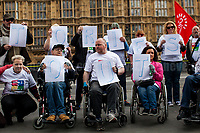 """02.05.2017 - """"Who 2 Vote 4?"""" - Disabled People Against Cuts Demo"""