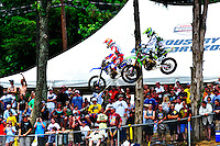 The 250 class during the first moto of the Lucas Oil AMA Pro Motocross at Budds Creek National in Mechanicsville, Maryland on Saturday, June 18, 2011. Alan P. Santos/DC Sports Box