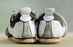 Pair of Worn Adidas Cup 68 Trainers - Mar 2012