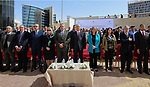 Palestinian Prime Minister Rami Hamdallah attends a celebrate World Water Day, in the West Bank city of Ramallah on March 29, 2017. Photo by Prime Minister Office