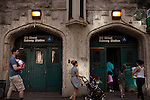 Commuters enter the 181St subway stop in Washington Heights on June 23, 2012.
