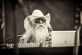 LEON RUSSELL, SANTA CRUZ BLUES FESTIVAL, 2009, JEROME BRUNET