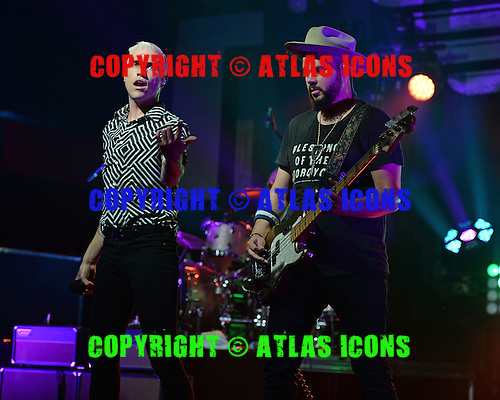 FORT LAUDERDALE FL - JULY 09: Tyler Glenn and Branden Campbell of Neon Trees perform at Revolution on July 9, 2015 in Fort Lauderdale, Florida. Photo by Larry Marano © 2015