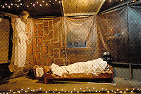 The Santa Monica Nativity Scene:Scene 2 Joseph's Dream - Church of Jesus Christ of Later-Day Saints, on Tuesday, December 12, 2010.