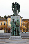 Lusitania Peace Memorial, Cobh, Cork, Ireland. The Lusitian was a Cunard Line liner that was torpedoed by a German U Boat off the coast of Ireland in 1915 with the lost of 1,195 lives.