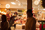 Visitors browse holiday finds at Gourmet Works.