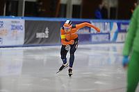 SCHAATSEN: LEEUWARDEN, 22-10-2016, Elfstedenhal,  KNSB Trainingswedstrijden, Melissa Wijfje, ©foto Martin de Jong