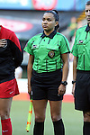 19 June 2015: Assistant Referee Reyna Fonseca. The Portland Thorns FC hosted FC Kansas City at Providence Park in Portland, Oregon in a National Women's Soccer League 2015 regular season match. The game ended in a 1-1 tie.