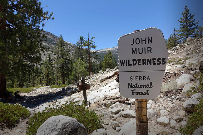 John Muir Trail near Florence Lake & Piute Creek