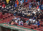 The Maine pep band. - The University of Maine Black Bears defeated the Boston University Terriers 7-3 (2EN) on Saturday, January 11, 2014, at Fenway Park in Boston, Massachusetts.