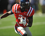 Ole Miss' Tobias Singleton (7) vs. Arkansas at Vaught-Hemingway Stadium in Oxford, Miss. on Saturday, October 22, 2011. .