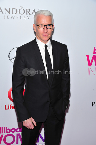 NEW YORK, NY - DECEMBER 9 : Anderson Cooper at the 11th Annual Billboard's Women In Music Luncheon at Madison Square Garden in New York City on December 9, 2016. Credit: John Palmer/MediaPunch