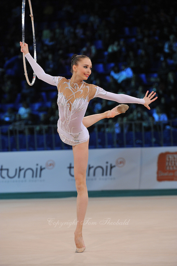 "VIKTORIA SHYNKARENKO of Ukraine performs at 2011 World Cup Kiev, ""Deriugina Cup"" in Kiev, Ukraine on May 08, 2011."