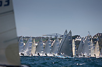 Pictures of JP Morgan Asset Management Finn Gold Cup 2012. Day 1 of Racing. Falmouth.Credit: Lloyd Images