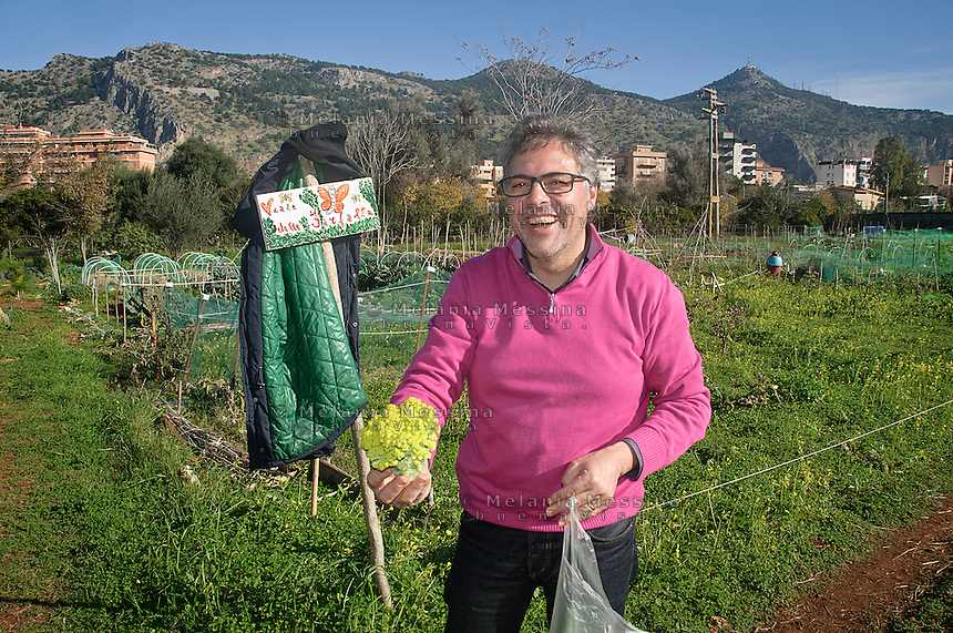 Palermo: l'orto urbano condiviso nella periferia nord.<br /> Palermo: community garden within the city.