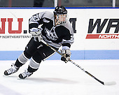 Alex Velischek (Providence - 27) - The Northeastern University Huskies defeated the visiting Providence College Friars 5-0 on Saturday, November 20, 2010, at Matthews Arena in Boston, Massachusetts.