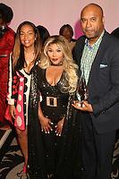 NEW YORK, NY - NOVEMBER 16: Lil Kim and Londell McMillan at the Sixth Annual WEEN Awards at ESPACE on November 16, 2016. Credit: Walik Goshorn/MediaPunch