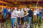 Rehearsals Strictly Come Dancing in the INEC, Killarney last Tuesday night. Picture Front l-r Amy Taaffe, Sean Taaffe, Rachel Fitzgerald, Joe Burkett, Danielle O'Sullivan and Tom Lucey.