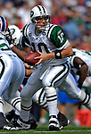 30 September 2007: New York Jets quarterback Chad Pennington in action against the Buffalo Bills at Ralph Wilson Stadium in Orchard Park, NY. The Bills defeated the Jets 17-14 handing the Jets their third loss of the season...Mandatory Photo Credit: Ed Wolfstein Photo for UPI