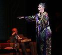 Edinburgh, UK. 09.08.2012. Opera North presents THE MAKROPULOS CASE, by Janacek, at the Festival Theatre, as part of the Edinburgh International Festival. Picture shows: Ylva Kihlberg (as Emilia Marty) and Mark le Brocq (as Vitek).