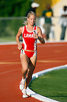 Amanda King of Lamar Univ. won the 5000m run in a time of 17:29.97secs.  @ the Michael Johnson Classic held @ Baylor Univ., Waco, Texas on Saturday, April 21, 2007. Photo by Errol Anderson, The Sporting Image.