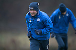 St Johnstone Training&hellip;09.12.16<br />Tam Scobbie pictured during training at McDiarmid Park this morning..<br />Picture by Graeme Hart.<br />Copyright Perthshire Picture Agency<br />Tel: 01738 623350  Mobile: 07990 594431