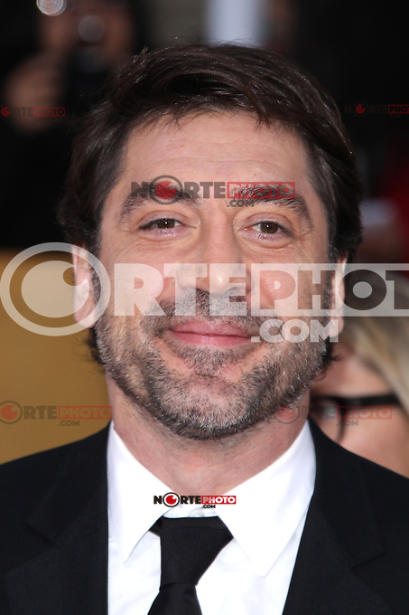 LOS ANGELES, CA - JANUARY 27: Javier Bardem at The 19th Annual Screen Actors Guild Awards at the Los Angeles Shrine Exposition Center in Los Angeles, California. January 27, 2013. Credit: MediaPunch Inc.
