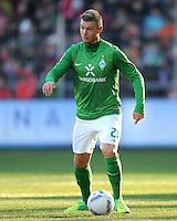 FUSSBALL   1. BUNDESLIGA   SAISON 2011/2012    20. SPIELTAG  05.02.2012 SC Freiburg - SV Werder Bremen Florian Hartherz (SV Werder Bremen)