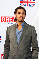 LOS ANGELES - FEB 24:  Elliot Knight arrives at the GREAT British Film Reception at the British Consul General's Residence on February 24, 2012 in Los Angeles, CA.