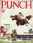 Punch (Front cover, 10 October 1956)