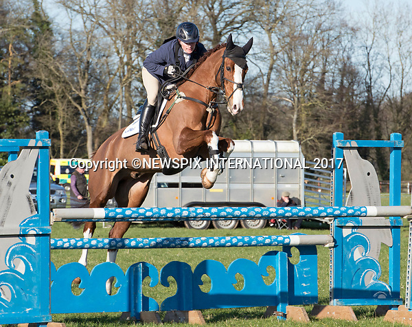 25.03.2017; Gatcombe, UK: ZARA TINDALL<br /> participates in the show jumping on BGS Class Affair during the Gatcombe Horse Trials.<br /> The 2-day horse trials are held on Princess Anne&rsquo;s estate in Minchinhampton, Gloucestershire<br /> Mandatory Photo Credit: &copy;Francis Dias/NEWSPIX INTERNATIONAL<br /> <br /> IMMEDIATE CONFIRMATION OF USAGE REQUIRED:<br /> Newspix International, 31 Chinnery Hill, Bishop's Stortford, ENGLAND CM23 3PS<br /> Tel:+441279 324672  ; Fax: +441279656877<br /> Mobile:  07775681153<br /> e-mail: info@newspixinternational.co.uk<br /> Usage Implies Acceptance of OUr Terms &amp; Conditions<br /> Please refer to usage terms. All Fees Payable To Newspix International