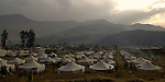 Following an October 8, 2005, earthquake, a tent city outside Balakot sponsored by Action by Churches Together. The quake measured 7.6 on the Richter scale and killed more than 74,000 people in northern Pakistan.
