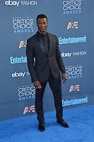 Aldis Hodge at the 22nd Annual Critics' Choice Awards at Barker Hangar, Santa Monica Airport. <br /> December 11, 2016<br /> Picture: Paul Smith/Featureflash/SilverHub 0208 004 5359/ 07711 972644 Editors@silverhubmedia.com
